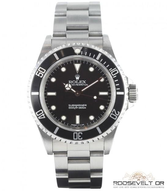 style exquis choisissez le dégagement guetter Rolex Submariner No Date 2 lignes