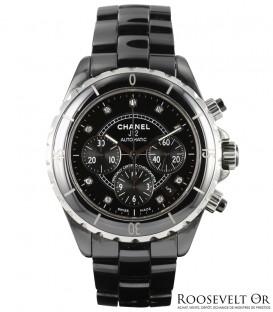 Chanel J12 Chronographe Index Diamants