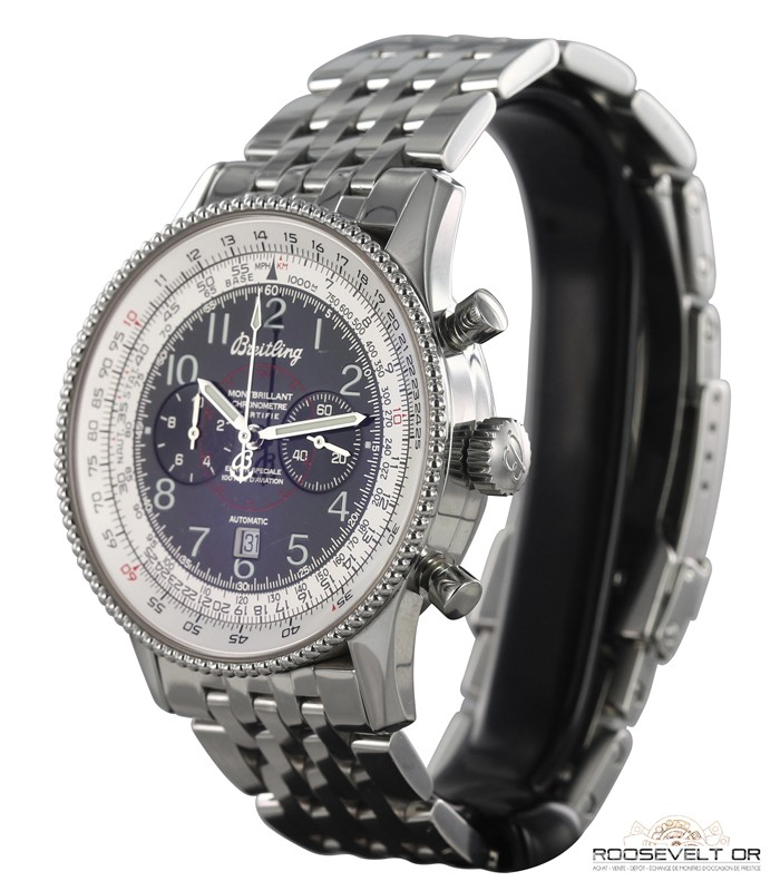aviator watch breitling sekl  Breitling Navitimer Montbrillant 100 ans d'aviation 1903-2003